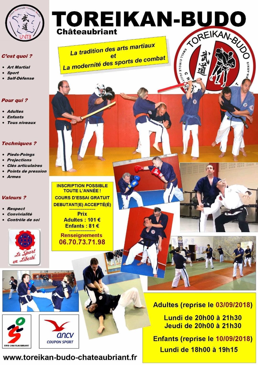 affiche toreikan Budo 2018 Large